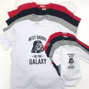 "Боди  ""Best DADDY in the GALAXY"""