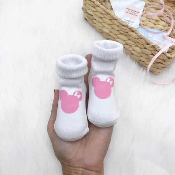 Носочки с Минни маус - фото