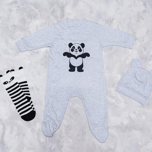 Человечек-слип Панда - фото