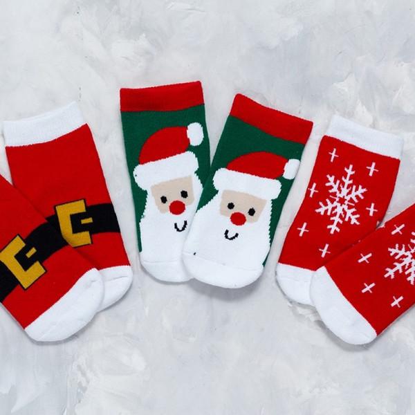 Носочки Новогодние - фото