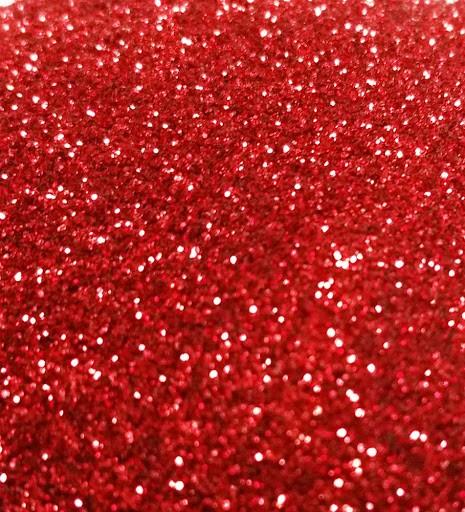 Красный глиттер